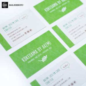 Specialty Smooth Uncoated Business Card