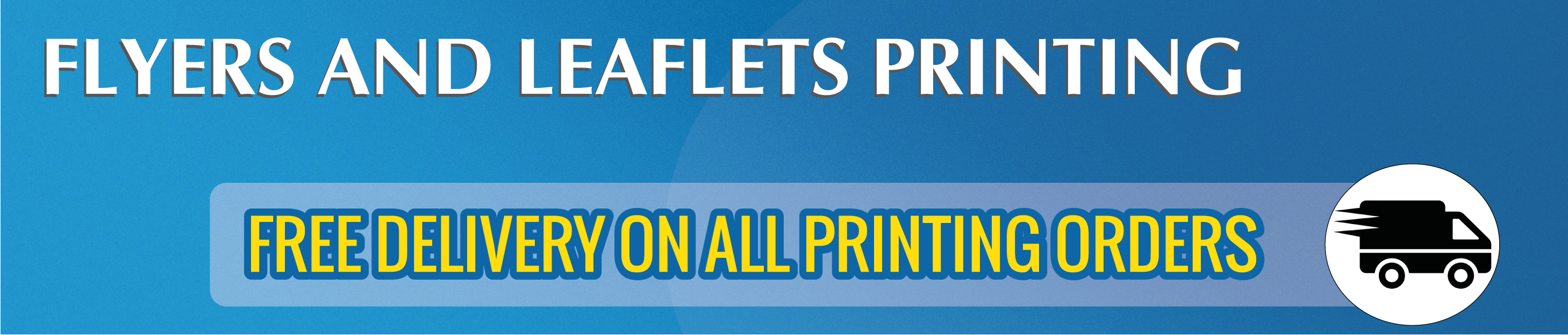 flyers and leaflets online printing