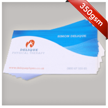 350gsm Business Cards