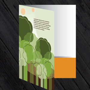 Folder printing and design, a5 and a4 folders, folder printing from £61