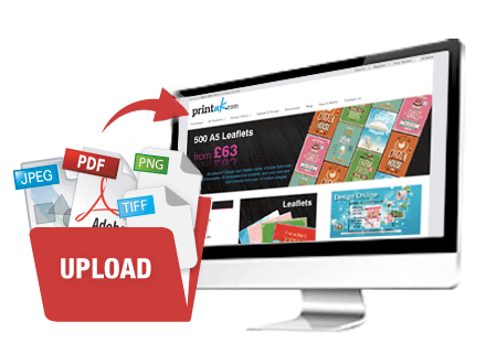 upload a print design, cheap printing, high quality printing, print your file, PDF, print online
