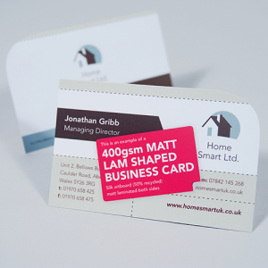 Product Detail 400gsm Matt Lam Business Cards