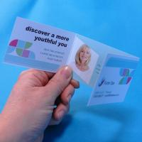 Regular Folding and Cut-out Business Cards