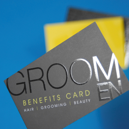 Hi-quality business cards, printed on silk or uncoated stock, laminated with gloss or matt lamination. Talk to us.