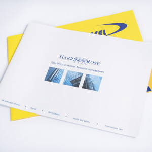 A4 Landscape Booklets : 100gsm Recycled
