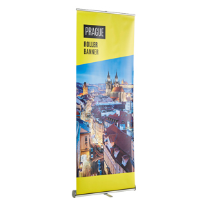 Classic Banner Stand and Poster