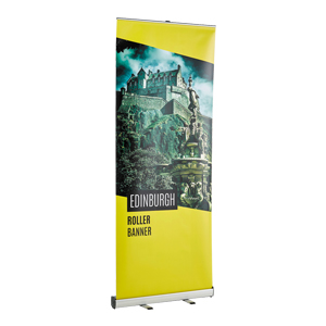 Budget Roller Banner Stand and Poster