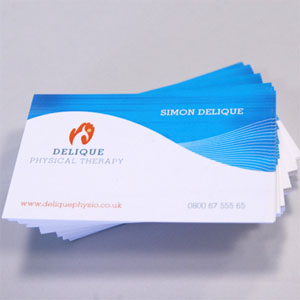 350gsm Digital Business Cards
