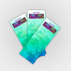 350gsm Matt Laminated Bookmarks