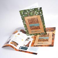 Premium Silk Folded Leaflets