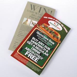 Mass Marketing Leaflets