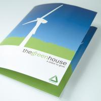 Gloss Laminated Interlocking Presentation Folders