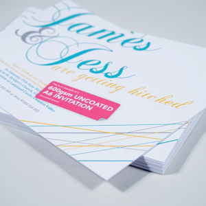 600gsm Uncoated Flyers