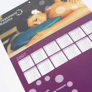 400gsm Silk Hanging Calendars