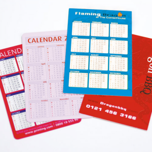 280gsm Gloss Pocket Calendars