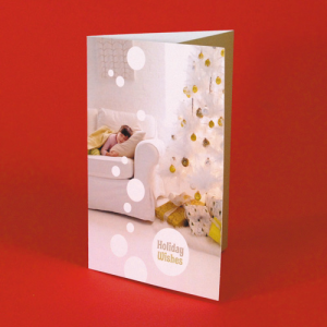 400gsm Silk Voucher Christmas Cards