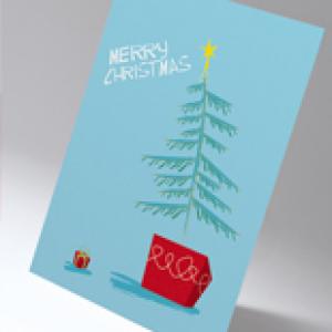 Xpress Silk Christmas Cards