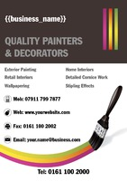 Painter A4 Posters - Front