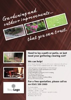 Home Maintenance A4 Leaflets - Front